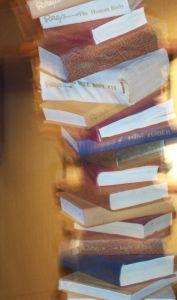 Books, a stack
